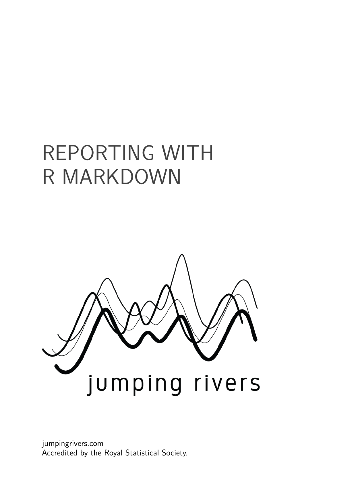 Example course material for 'Reporting with R Markdown